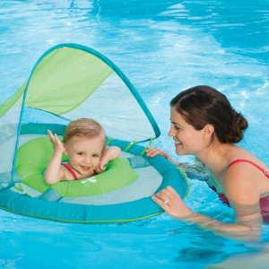Swimways Baby Spring Float Canopy Whale - Solid esspero canopy