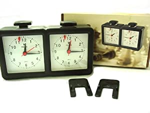 LEAP Master Tournament Analog Chess Clock Timer