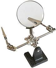 Comprar Silverline 633830 Lupa con pinzas 63 mm 2,5x
