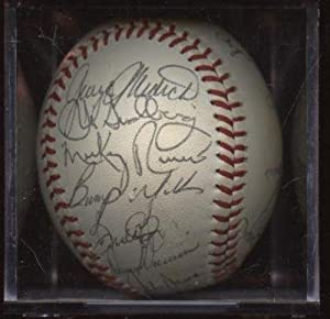 1980 Texas Rangers Team Signed Baseball 15 Signatures PSA DNA LOA - Autographed... by Sports+Memorabilia