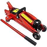 ZYY 601301 Red Hydraulic Trolley Jack - 2 Ton Capacity