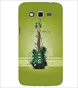 SAMSUNG GALAXY GRAND 2 GREEN GUITAR Designer Back Cover Case By PRINTSWAG