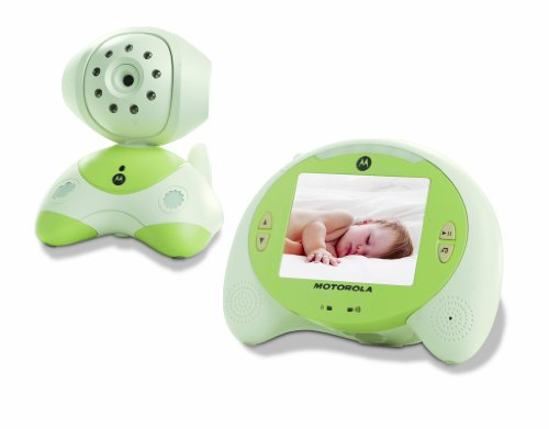 Motorola Digital Video Baby Monitor with Room Temperature Thermometer