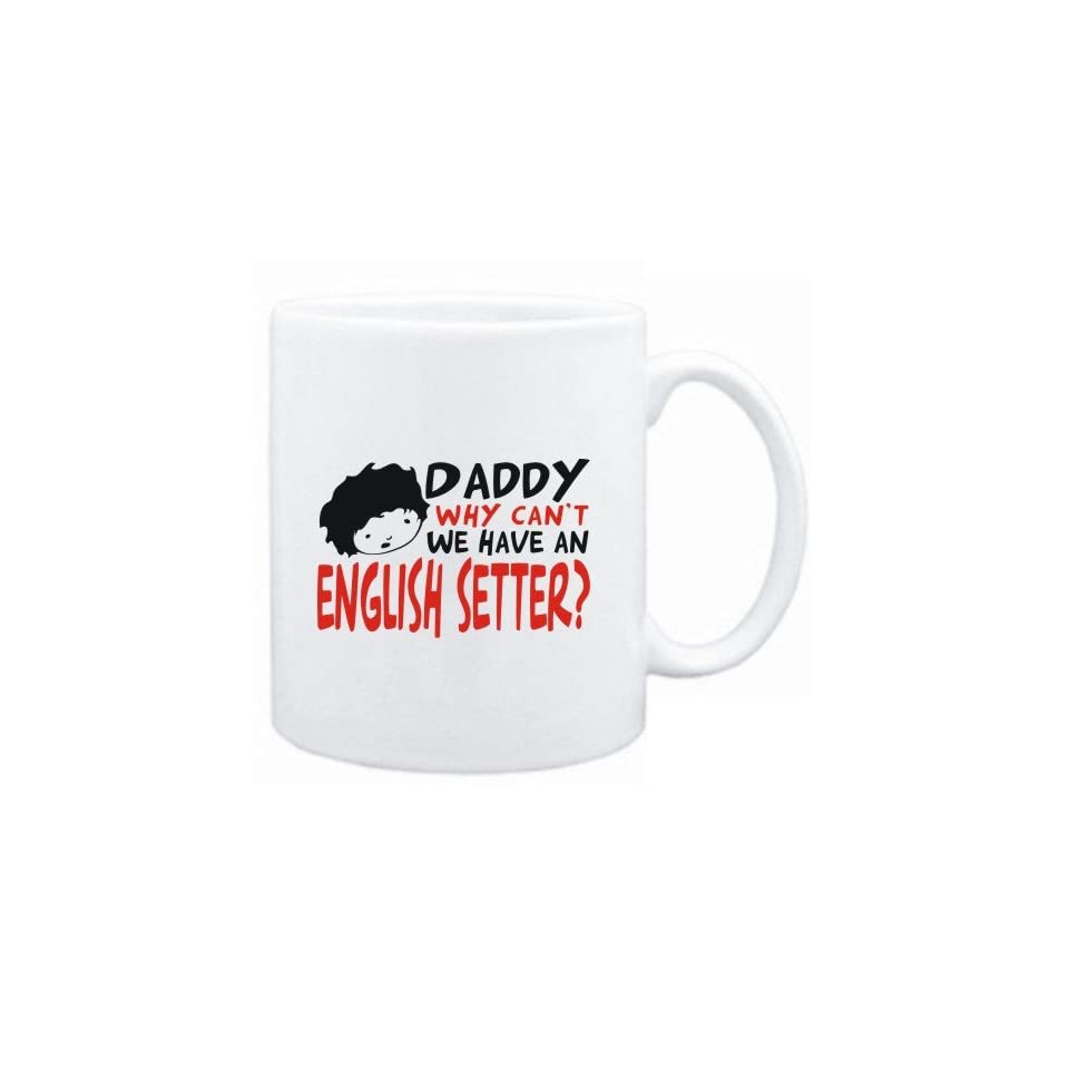 Mug White  BEWARE OF THE English Setter  Dogs