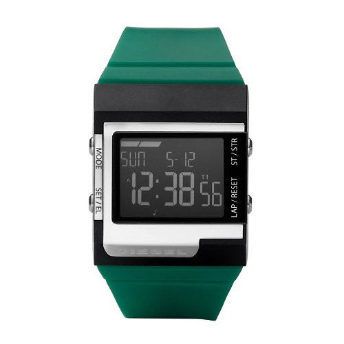 Diesel Unisex Thermal Pu (Green To Yellow) Digital Watch Dz7212