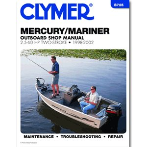 Clymer Mercury Mariner 2.6 60Hp Manual