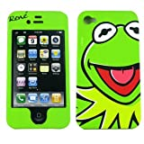 Kermit the Frog Disney Protector Faceplate Case for Apple Iphone 4 4S Disney Mupet Case Rene