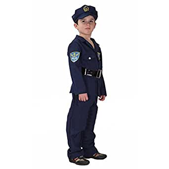 Amazon.com: TopTie Child Police Officer Costumes / Cop Dress Up