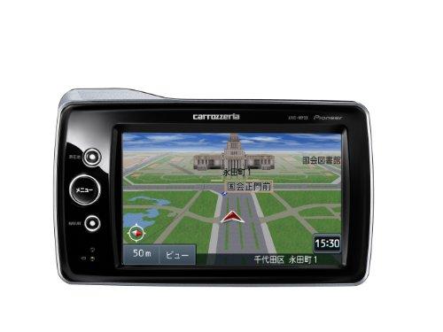 Pioneer carrozzeria ポータブルメモリーカーナビゲーション ワイドVGAワンセグTV/microSD 4.8v型 AVIC-MP33II