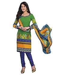 AASRI Women Cotton Unstitched Salwar Suit - B015N8OZJK