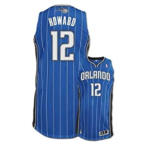 Dwight Howard Orlando Magic #12 Revolution 30 Authentic Adidas NBA Basketball Jersey... by adidas