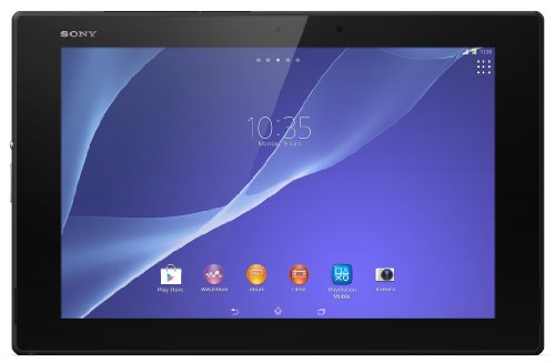 """Sony Xperia Tablet Z2 SGP511 (10,1"""" Tablet-PC, Touchscreen, 2,3 GHz-Quad-Core-Processore, 3GB RAM, 16GB HDD, Android 4.4) nero [Europa]"""