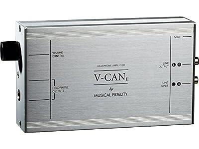 Musical Fidelity V-CAN Headphone Amplifier