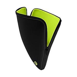 be.ez 100779 LArobe Sleeve for 15.4 -Inch Macbook Pro (Black/Wasabi)