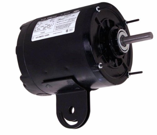 A.O. Smith Ya2030 1/3 Hp, 1725 Rpm, 1 Speed, 115 Volts, 48Yz Frame, Teao Enclosure, Sleeve Bearing, Reversible Rotation Yoke Mount Pedestal Fan Motor