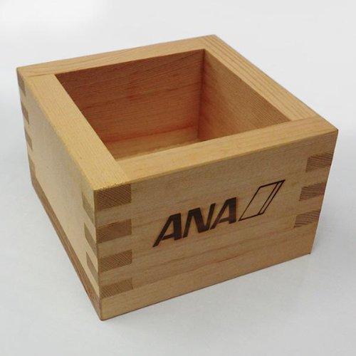 ANA(全日本空輸)創立50周年記念 2003年 元旦遊覧飛行 マス(升)【希少品】100%本物証明(非売品)111026