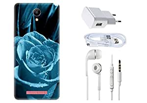 Spygen XIAOMI REDMI 2S Case Combo of Premium Quality Designer Printed 3D Lightweight Slim Matte Finish Hard Case Back Cover + Charger Adapter + High Speed Data Cable + Premium Quality Handfree