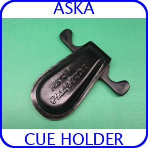 Billiard Cue Holder for 2 Cues Black