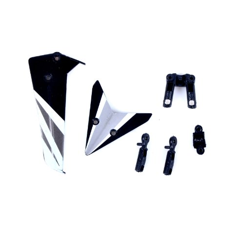 Syma Tail Fin Set for Syma S107C Heli - 1