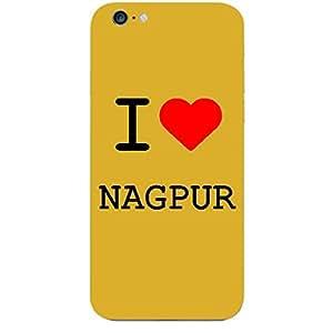 Skin4gadgets I love Nagpur Colour - White Phone Skin for APPLE IPHONE 6S PLUS