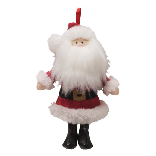 "Gund Fun Christmas Saint Nick Musical Ornament 7"" Plush - 1"