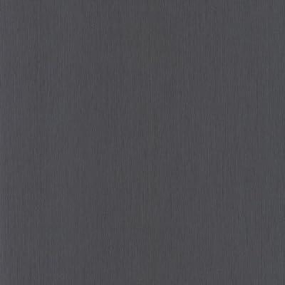 Casadeco Vera Textured Wallpaper Plain Black by Casadeco