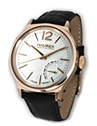 Haurex Italy Men's 6R341USH Grand Class Rose-Gold PVD Case Day Indication Watch