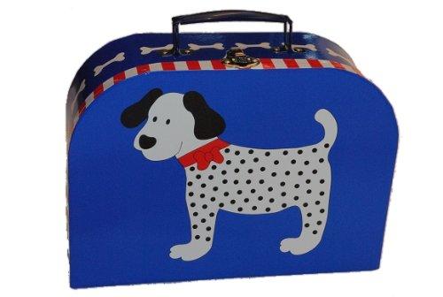 Kinderkoffer in 3 Größen ! Hund blau Groß