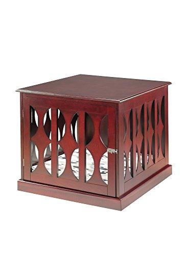 Elegant Home Fashions St. Augustine Crate, Mahogany