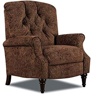 Lane Belle Hi-Leg Recliner in Tobacco