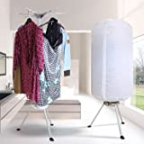 Portable electric clothes dryer for men, women, babies...also can be used as room heater
