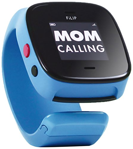 FiLIP 2 Smart Locator with Voice for Kids, Superhero Blue (AT&T)