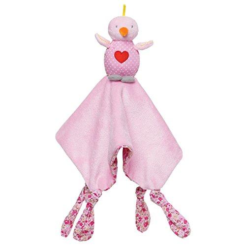 Elegant Baby Security Blanket, Lovebird