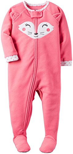 carters-baby-girls-1-pc-fleece-pink-12-months