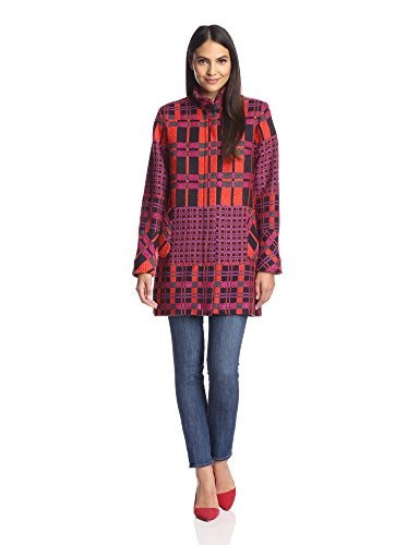 Hutch Women's Plaid Coat
