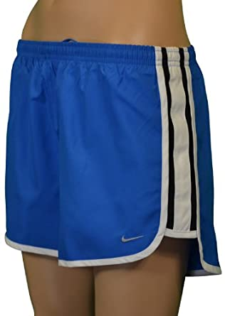 Nike Women's Tempo Running Shorts-Blue/white