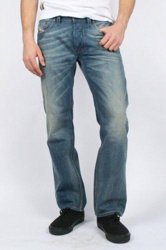 Diesel - Mens Larkee 0806P Denim Jeans, Size: 40W x 32L, Color: Denim