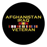 Afghanistan & Iraq VET Sticker