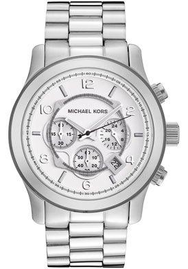 Michael Kors Men's MK8086 Runway Silver-Tone Watch