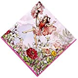 Meri Meri Flower Fairies 6-1/2-Inch Large Napkins, 20-Pack