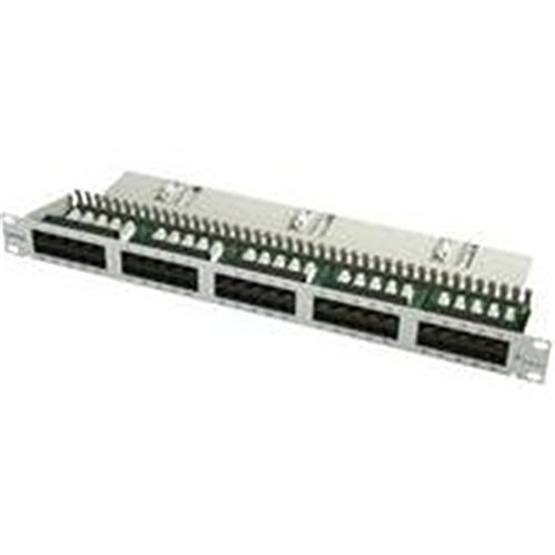 Telegärtner Patch Panel/50p ISDN 48,3 cm (19 Zoll)