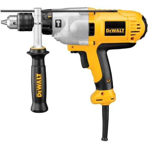 DEWALT DWD525K 1/2-Inch VSR Mid-Handle Grip Hammerdrill Kit