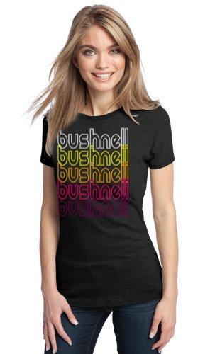 Bushnell, Fl Retro Vintage Style Florida Ladies' T-Shirt-Medium