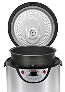 Tefal Rk302e15 8-in-1 Cooker - Slow Cooker, Steamer, Rice Cooker, Porridge Maker (2012 Model)