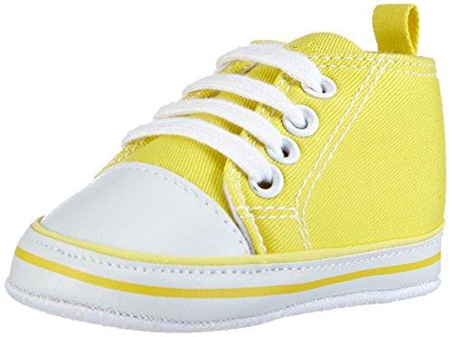 Playshoes, Stivaletti bambini Verde, Giallo (Yellow - Gelb (gelb 12)), 50