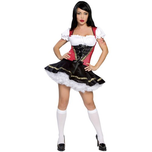 Beer Girl Costume - Medium/Large - Dress Size 6-10