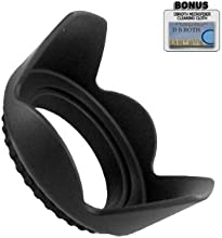 Pro Digital Hard Lens Hood For The Sony Alpha NEX-5 NEX-3 Digital Camera Which Have Any Of These Alp