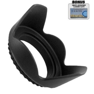 .. Pro Digital Hard Lens Hood For The Sony Alpha DSLR-A290, A390 Digital Camera Which Have Any Of These (18-70mm, 18-55mm, 75-300mm, 55-200mm, 50mm, 100mm) Sony Lenses