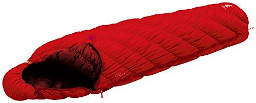 モンベル 寝袋ダウンハガー800#3 サンライズレッド