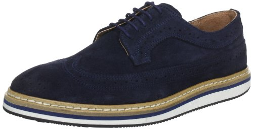 SELECTED HOMME Sel George Suede Lace-Ups Mens Blue Blau (Navy) Size: 9 (43 EU)
